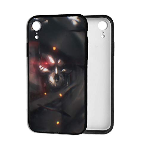 William D Oliver Overlord-Ainz Ooal Gown Anime Cartoon Fashion PVC Phone Case for iPhone XR,Ultra Slim,Lightweight,Scratch Resistant