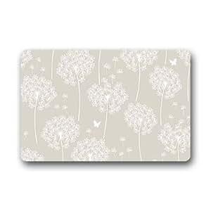 """Custom Dandelion Doormat Outdoor Indoor 23.6""""x15.7"""" about 59.9cmx39.8cm"""