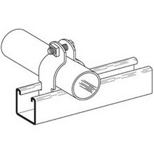 Series B2000 (Cooper B-Line B2002HDG B2000 Series Thin Wall Conduit Clamp 3/4 Inch 2-Piece 16 Gauge Low Carbon Steel Hot-Dipped Galvanized Channel Mount)