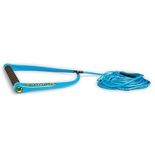 Straight Line Apex Suede Handle W/ PU Coated Dyneema Combo (2018)-BLUE