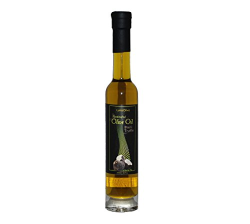 Napa Valley Olive Oil Black Truffle Infused Extra Virgin For Gourmet Cooking, Salad Dressing, Gift Baskets, Mediterranean Diet, Vegetarian Recipes, Health Food Or A Unique Gluten Free Gift