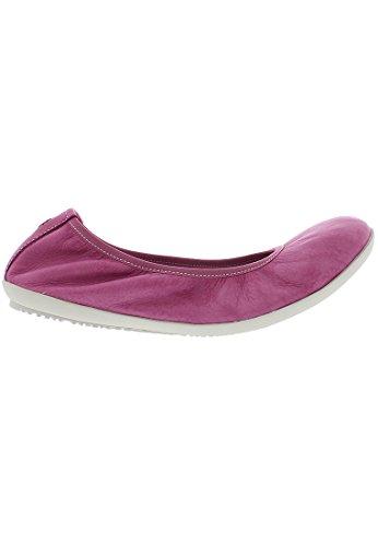 Softinos Dames Oki451sof Gewassen Gesloten Ballerina Roze (pink)