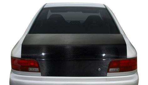 1994-1998 Ford Mustang Carbon Creations Mach 2 Hood - 1 Piece