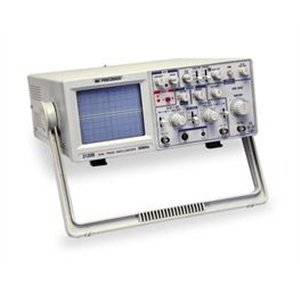 (B&K Precision 2120B Dual Trace Analog Oscilloscope with Probes, 30 MHz)