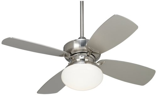 36'' Casa Vieja Outlook Brushed Nickel Ceiling Fan by Casa Vieja
