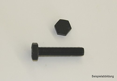 10 Stk Sechskantschraube DIN 933 12.9 M10 x 60
