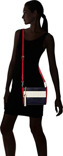 Tommy Hilfiger Logo Story Crossover Cb - Borse a tracolla Donna, Multicolore (Corporate), 6.5x18x22 cm (W x H L)