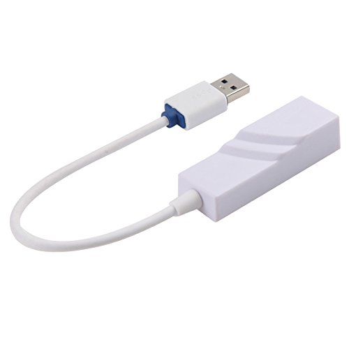 Smays Gigabit Ethernet to USB Macbook Air and Apple Mac book Pro, Plug and Play at windows 10 10/100/1000 Wire USB LAN (Realtek USB GbE RTL8153 Family Controller)