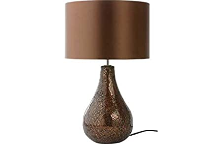 Heart of house eloise crackle table lamp chocolate amazon heart of house eloise crackle table lamp chocolate mozeypictures Images
