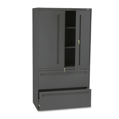 HON 785LSS 700 Series Lateral File w/Storage Cabinet, 36w x 19-1/4d, - Binder Hon
