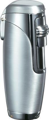 Visol Triad Silver Triple Jet Flame Cigar Lighter