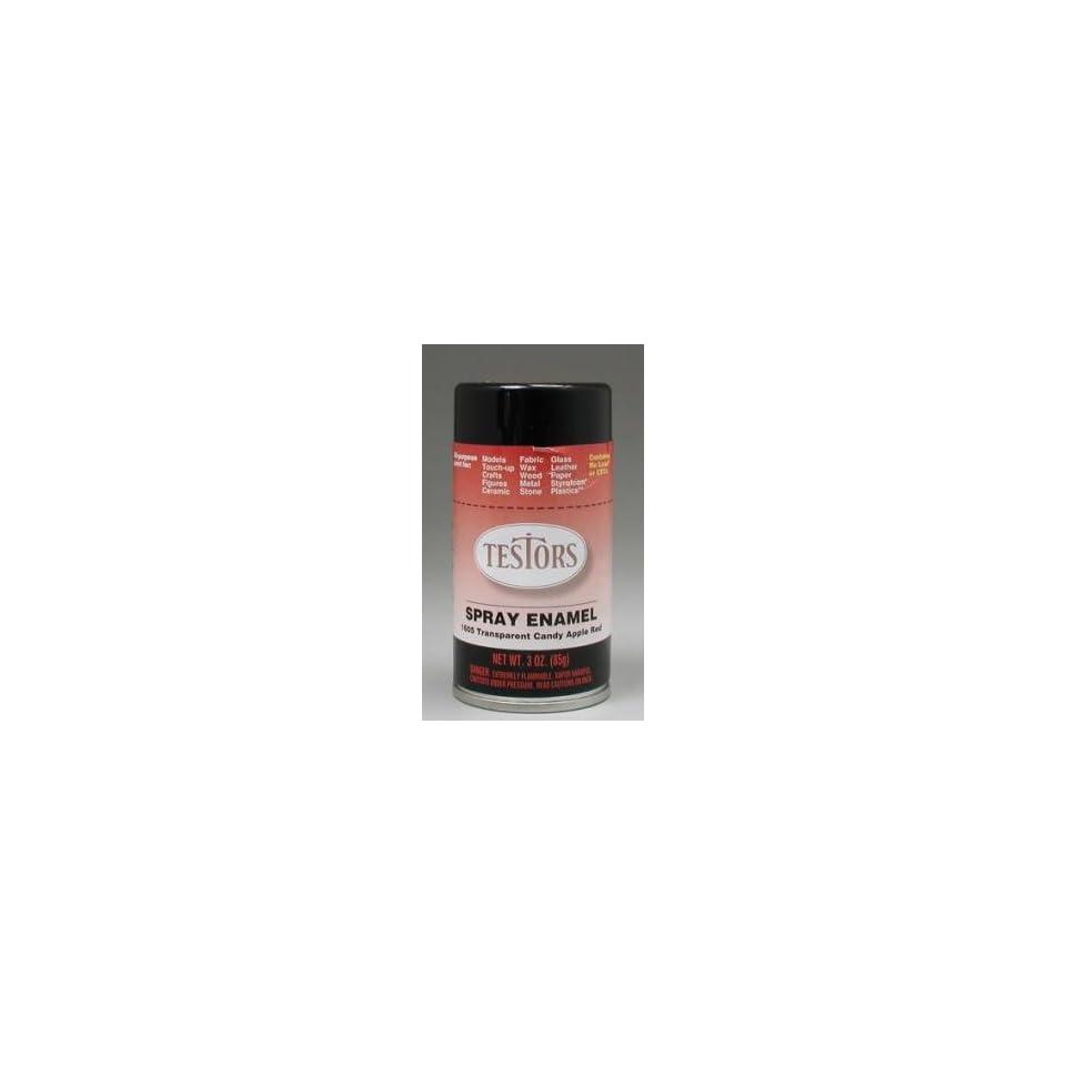 Red Spray Testors Enamel Plastic Model Spray Paint