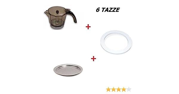 Kit de una jarra para cafetera de 6 tazas Alicia DeLonghi + Junta ...