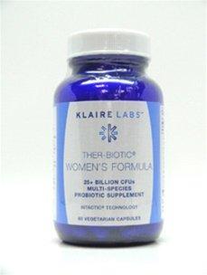 Klaire Labs Ther-биотических Женская Формула 60 Вегетарианская капсулы