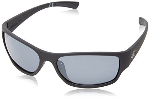 Anarchy Men's K Grind Polarized Oval Sunglasses,Black Rubberized,62.5 - For Men Sunglasses K