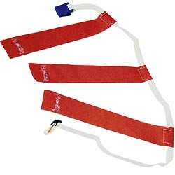 TRIPLE THREAT Flag Football Belts, Green, Medium -