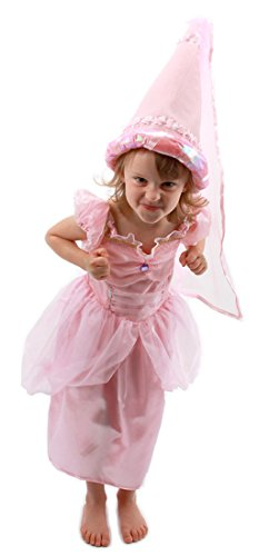 elope Kids's Pink Princess Cone Hat