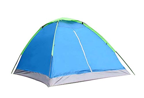 Makino Outdoor Double Person Tent for Lover Pop-up Tent Single Layer Tent Camping Tent Royalblue
