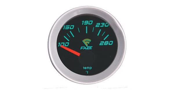 Sunpro CP7005 Sport ST 2 Electrical Water//Oil Temperature Gauge Kit