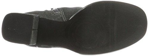 Bianco Damen Plateau Boots Stiefel Grau (Dark Grey)