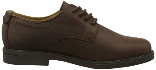 Brown Oxford Wp Marrone WP up Scarpe Turner Sebago Lace Basse Stringate Leather Uomo Dk PRw0Hq