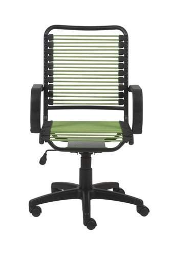 eS Modern High Back Bungee Office Chair in Green
