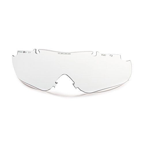 Smith Optics 2015 Aegis Arc/Echo/Echo II Compact Elite Tactical Eyeshield Replacement Lens - PACK OF 50 (Clear Lens)