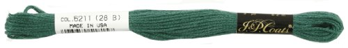 C&C 6-Strand Embroidery Floss 8.75yd-Jade Very Dark for sale  Delivered anywhere in USA