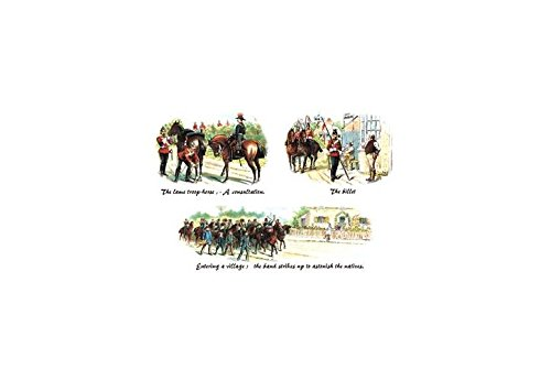 - Buyenlarge Lame Troop-Horse, Billet, and Entering A Village Print (Canvas Giclee 12x18)