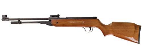 Power Air Rifle Pellet Gun .22 5.5mm Caliber Geniune Real Walnut Wood Shooting Hunting Sport Seasonal