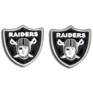 NFL Oakland Raiders Stud Earrings