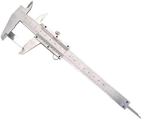Zixin Vernier Caliper 0-150MM/0.02 Scale Vernier Caliper (Size : 0-150mm) Vernier Caliper