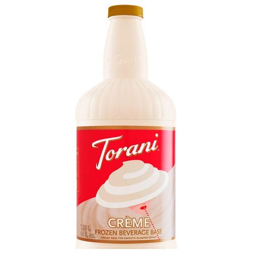 R. Torre & Company Creme Frozen Beverage Base, 64 Oz. (03-0874) Category: Drink Syrups