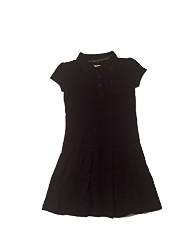 Cherokee Girls' School Uniform Short-Sleeve Knit Tennis Dress