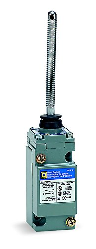 Square D 9007C66KC Heavy Duty NEMA Limit Switch, Two-Stage Operation, 2 Pole, Wobble Stick Coil Spring Ext. (Pole Limit Switch)