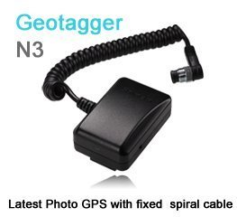 Solmeta Geotagger N3-a is camera GPS receiver & Shutter Release for Nikon D5
