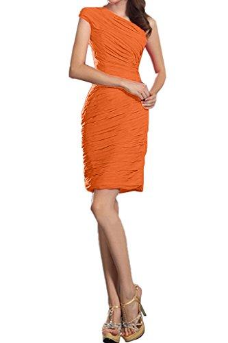 Missdressy -  Vestito  - plissettato - Donna Orange 40