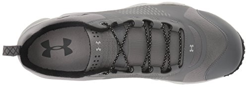 Under Armour Men's Valsetz RTS-Mid Hiking Boot, Black, M US Graphite/Aluminum/Black