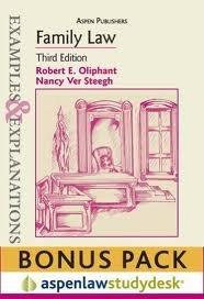 Download Examples & Explanations: Family Law, 3rd Ed. (Print + eBook Bonus Pack) PDF