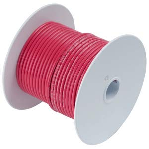 Ancor Marine Grade Primary Wire and Battery Cable (Red, 35 Feet, 18 AWG)