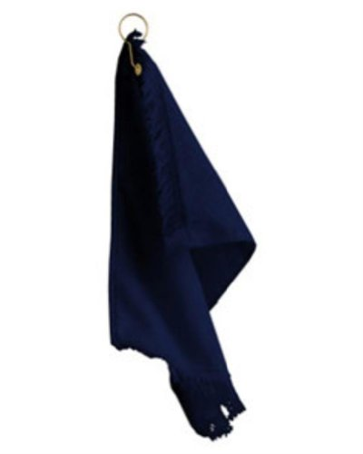 Anvil T60G Fingertip Towel with Grommet Navy