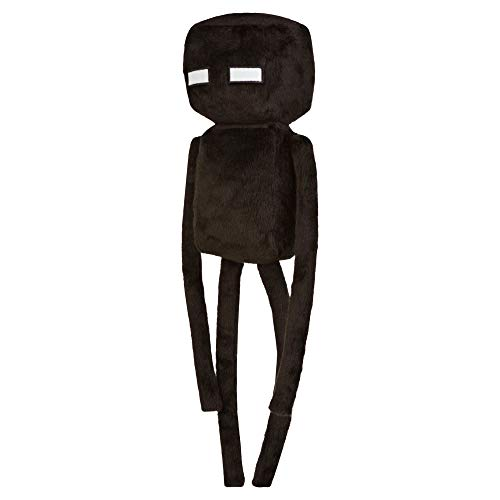 "JINX Minecraft Enderman Plush Stuffed Toy (Black, 17"" Tall) from JINX"