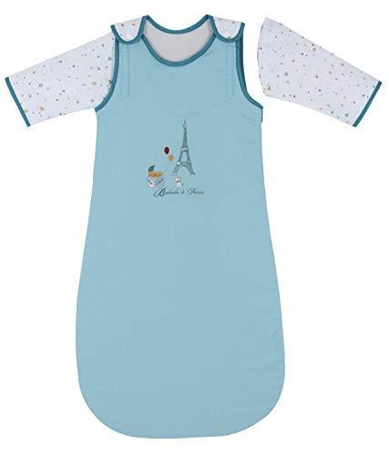 Ptit Basile - Saco dormir bebé invierno caliente a manga extraíbles - 6-