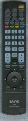 (Sanyo GXEB LCD HD TV Remote Control for DP37840, DP42840, DP46840, DP50740, DP52440)