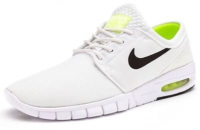 Nike Stefan Janoski Max, Unisex Adults' Low-Top Sneakers White/Black