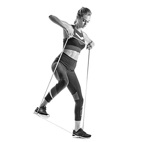 Resistance Band Exercise Loop Cords - by FILA Accessories | Superband for Assisted Pull Ups, Speed and Bodyweight Strength Training (Available in Light, Medium, Heavy - Sold Separately)