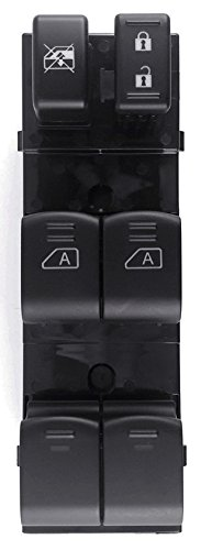 Front Left Driver Side Power Window Master Switch for 07-12 Nissan Altima Sedan Auto - Front Altima Driver