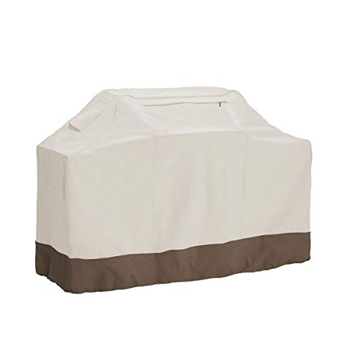 "PHI VILLA Waterproof Grill Cover, BBQ Grill Cover with Weather Resistant Fabric, Large, 65"" Length"