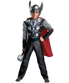Thor Movie Classic Muscle Child Costume -