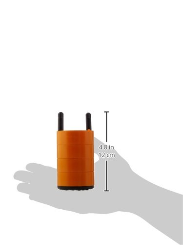 THERMO FISHER SCIENTIFIC 75008184 Centrifuge Adapter for Round Bucket, 2 mL x 25 mL Capacity DIN Standard Tube, Orange by Thermo Fisher Scientific (Image #2)